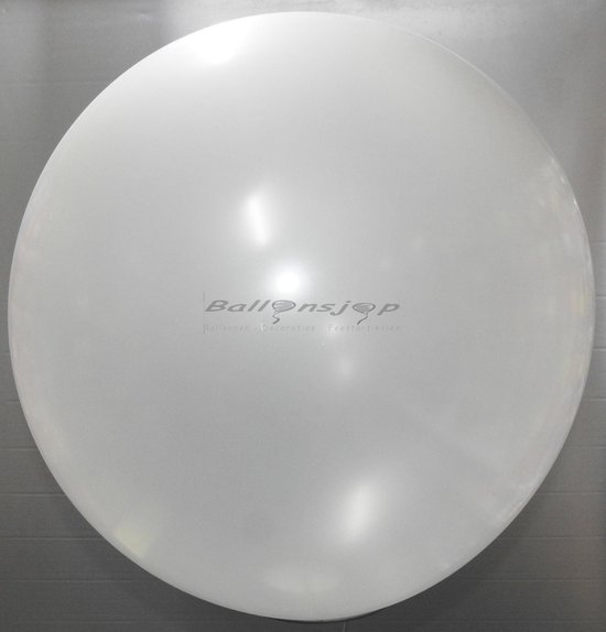 reuze ballon 60 cm  24 inch transparant