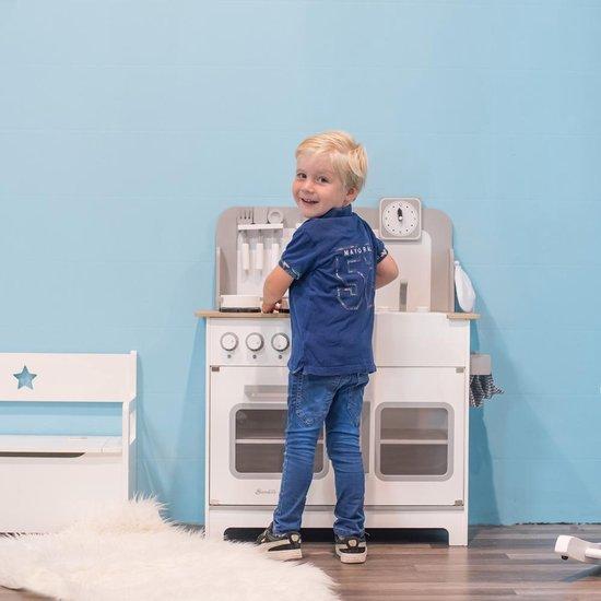 Houten kinderkeuken Chef Deluxe XL wit