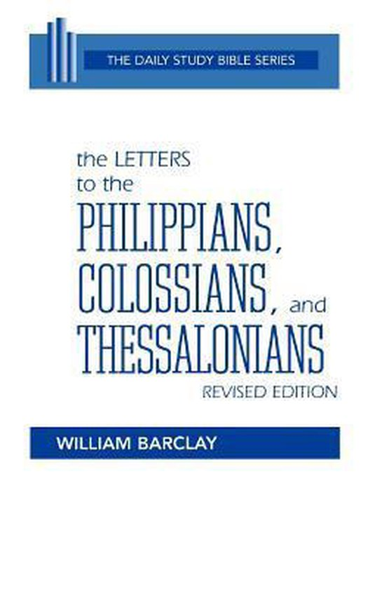 Boek cover The Letters to the Philippians, Colossians, and Thessalonians van Peter C. Craigie (Paperback)