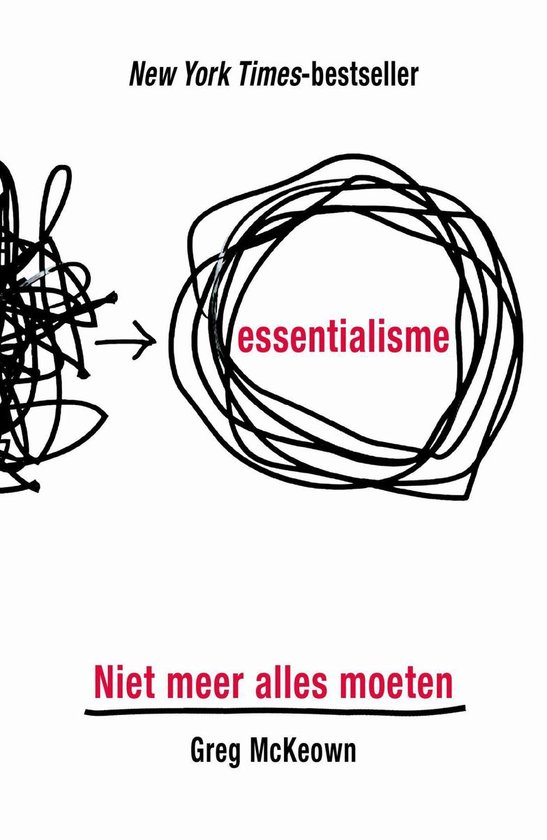 Boek cover Essentialisme van Greg McKeown (Onbekend)