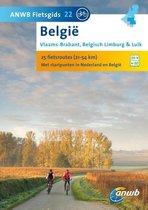 ANWB fietsgids 22 - België: Vlaams-Brabant, Belgisch Limburg & Luik