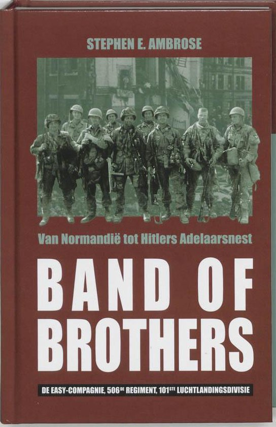 Boek cover Band Of Brothers van Stephen E Ambrose