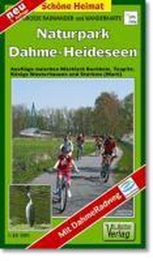 Große Radwander- und Wanderkarte Naturpark Dahme-Heideseen 1 : 35 000