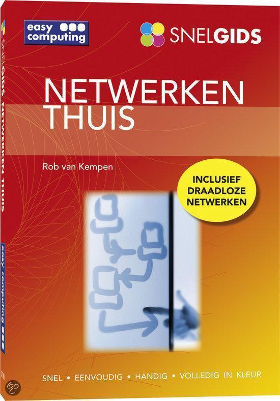Cover van het boek 'Snelgids Netwerken thuis'