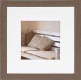 Fotolijst - Henzo - Driftwood - Fotomaat 30x30 - Bruin