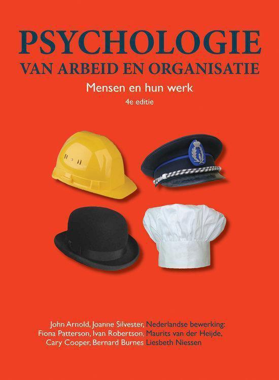 Psychologie Van Arbeid En Organisatie - John Arnold |