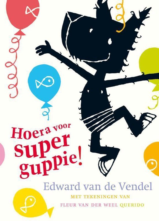 Cover van het boek 'Hoera voor Superguppie!'