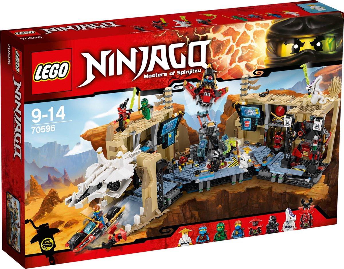 LEGO Ninjago Samurai X Grottenchaos - 70596