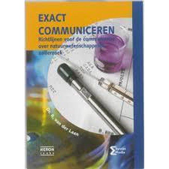 Heron-reeks - Exact communiceren - R. van der Laan |