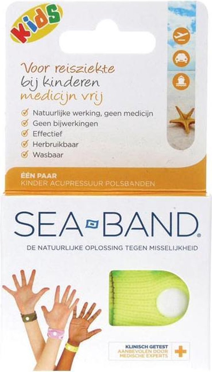 Seaband - Polsband -  Kinderen - 2 stuks - Assorti