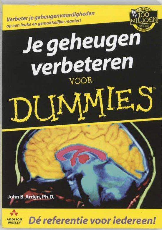 Voor Dummies - Je geheugen verbeteren voor Dummies - J.B. Arden |