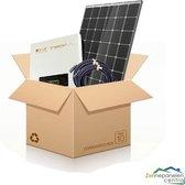 20 Zonnepanelen 295 Wp Trina Solar TSM-295 DD05A.08 - Omvormer Omnik Solar