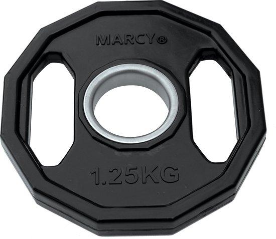 Tunturi Olympische Halterschijven - Halter gewichten - 2x 1,25kg - 50mm - Rubber