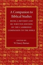 Boek cover A Companion to Biblical Studies van Barnes, W. Emery