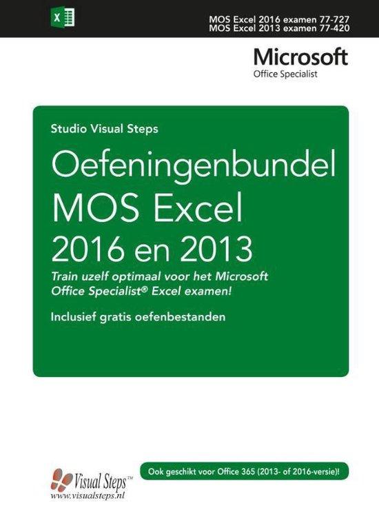 Oefeningenbundel MOS Excel 2016 en 2013 - Studio Visual Steps |
