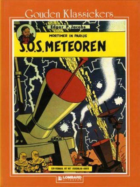 Blake & mortimer sos meteoren - Edgar P. Jacobs |