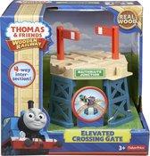 Fisher-Price - Thomas de Trein Houten Spoorbaan Verhoogde Spoorwegkruising