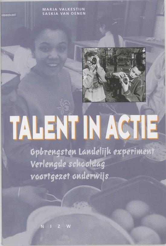 Talent In Actie + Cd-Rom - Marja Valkestijn |