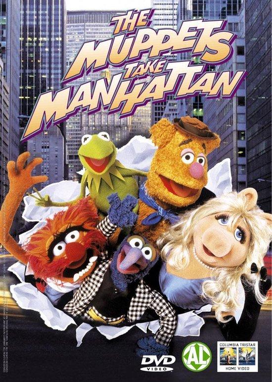 Cover van de film 'Muppets Take Manhattan'