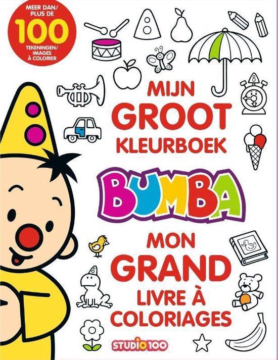 Bumba mijn groot kleurboek - Gert Verhulst |
