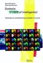 Boek cover Dyslexie: stoornis of intelligentie van Sjan Verhoeven (Paperback)