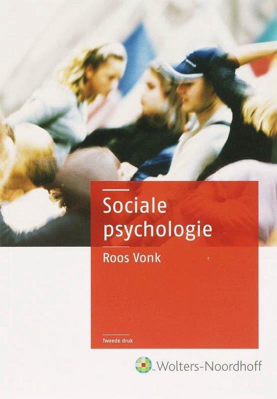 Cover van het boek 'Sociale psychologie / druk 2'