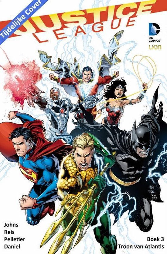 Justice league hc03. de troon van atlantis (new 52) - GEOFF. Johns, | Fthsonline.com