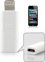 Micro USB naar 8 pin lightning adapter