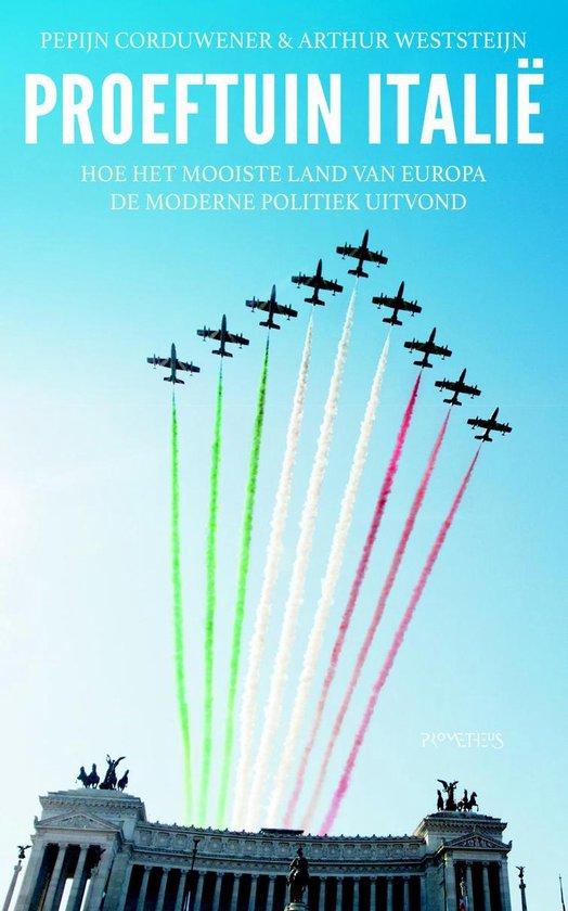 Boek cover Proeftuin Italië van Pepijn Corduwener (Onbekend)