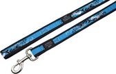 Rogz For Dogs Armed Response Hondenriem - 25 mm x 1.2 m - Turqouise Chrome