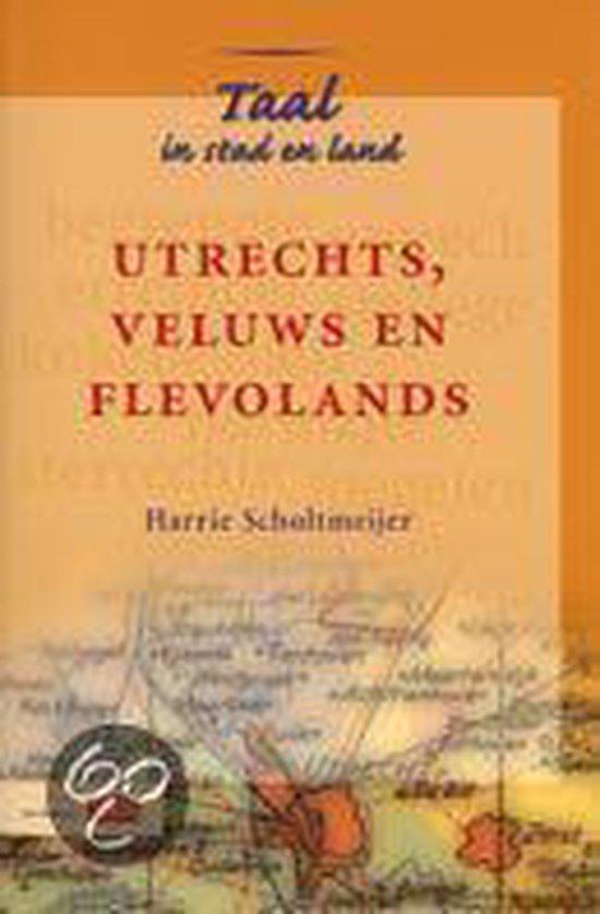 Boek cover Utrechts, Veluws En Flevolands van J.F.B. Pleus (Paperback)