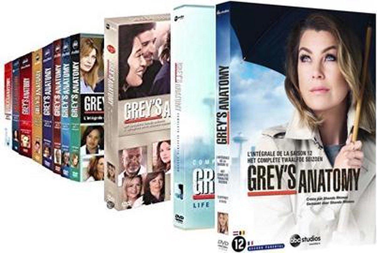 Grey's Anatomy Collectie (seizoen 1 t/m 12)  (Nederlands) -