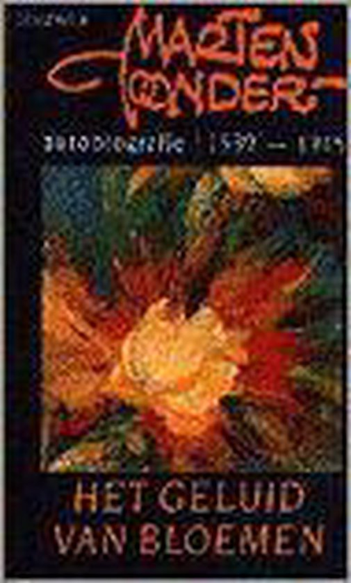BB-literair Het geluid van bloemen 1939-1945 - Marten Toonder  