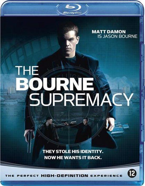 Cover van de film 'The Bourne Supremacy'