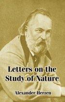 Boek cover Letters on the Study of Nature van Alexander Herzen
