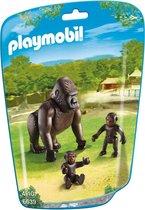 Playmobil gorilla met baby