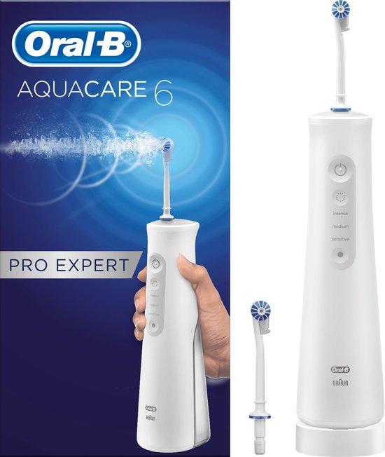 Oral-B Aquacare 6 Pro-Expert Oxyjet - Elektrische Waterflosser