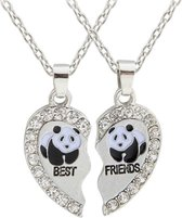 Fako Bijoux® - Vriendschapsketting - BFF Ketting - Best Friends - Panda