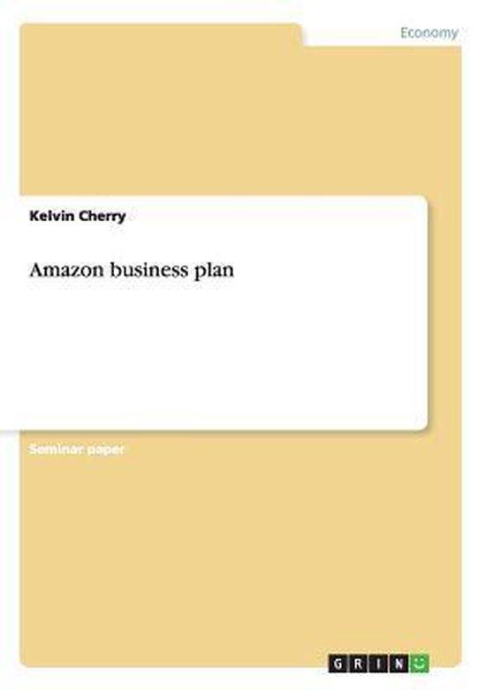 Amazon business plan