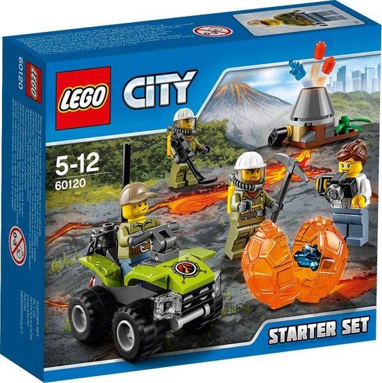 LEGO City Vulkaan Starter Set - 60120