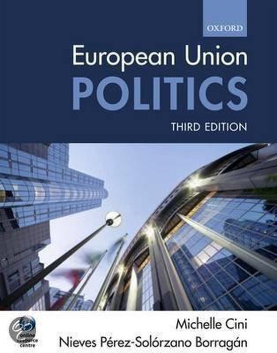 Boek cover European Union Politics van Michelle Cini (Paperback)