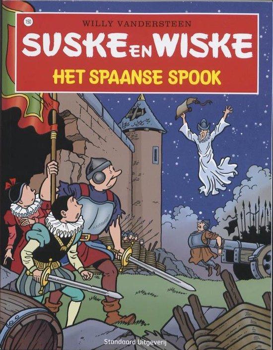 Cover van het boek 'Suske en Wiske / 150 Het Spaanse spook'
