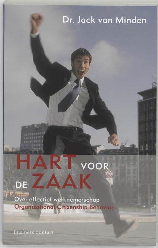 Cover van het boek 'Hart voor de zaak' van J. van Minden