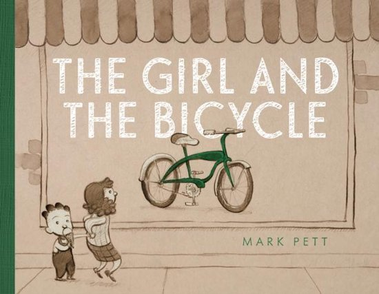 Boek cover The Girl and the Bicycle van Mark Pett (Hardcover)