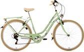 Ks Cycling Fiets 28 inch dames-citybike Casino met 6 versnellingen lichtgroen - 54 cm