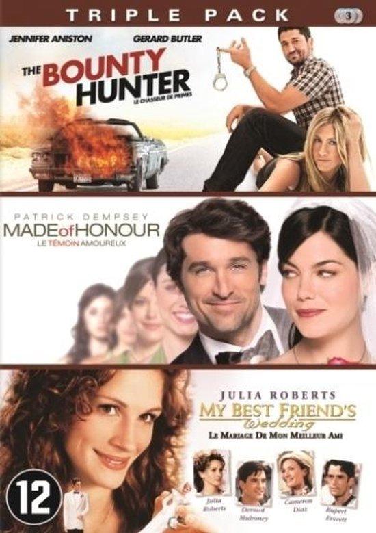 Cover van de film 'Bounty Hunter/Made Of Honour/My Best Friend's Wedding'