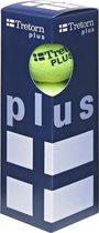 Tretorn Plus - Tennisballen - 3 stuks - Geel