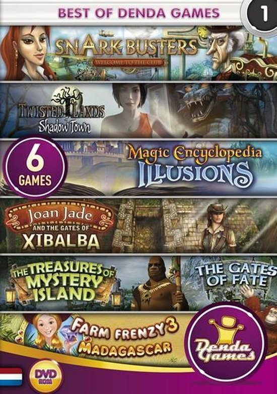 Best of Denda Games – 6 Pack