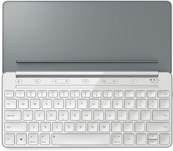 Microsoft Universeel Draadloos toetsenbord Qwerty Grijs