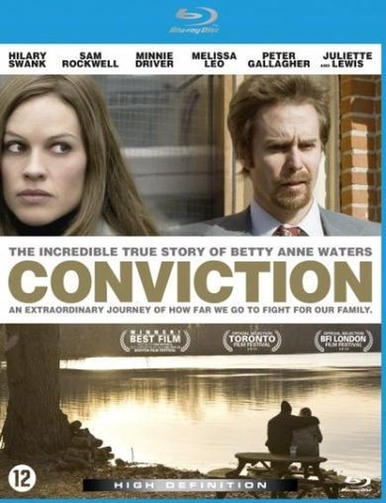 Cover van de film 'Conviction'